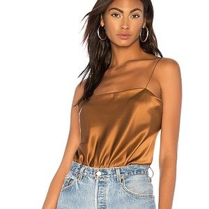 Alix Dean Bodysuit In Copper - from Revolve